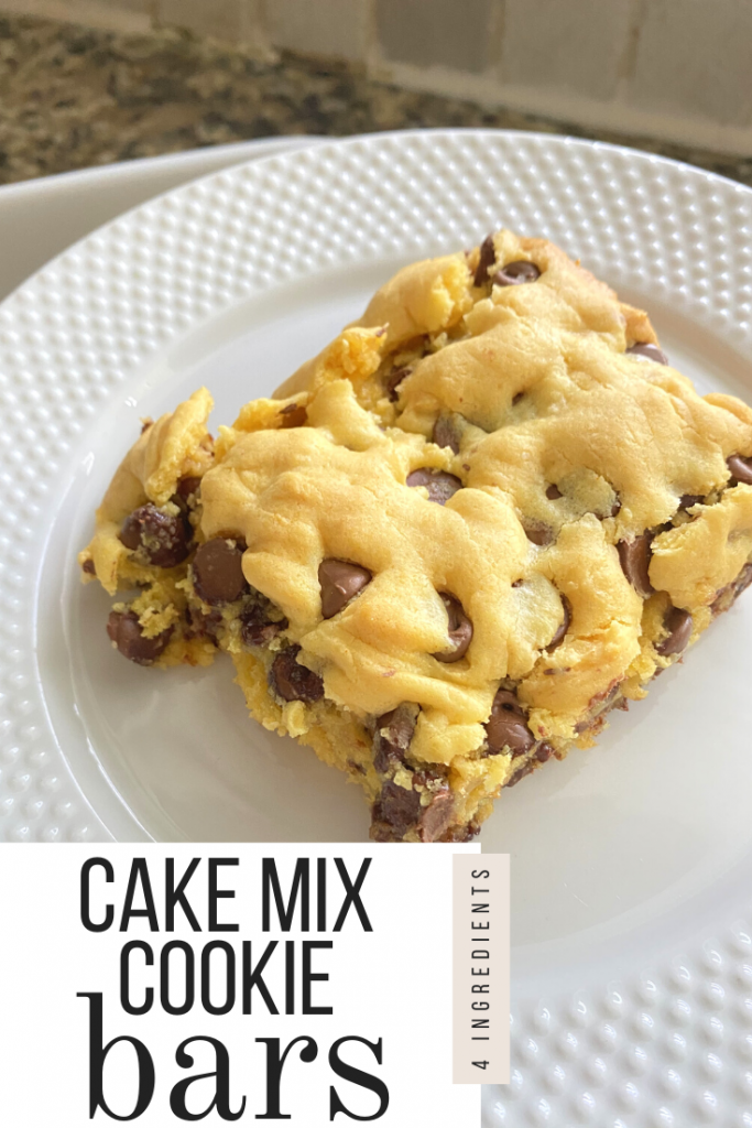 Chocolate Chip Cookies With Cake Mix