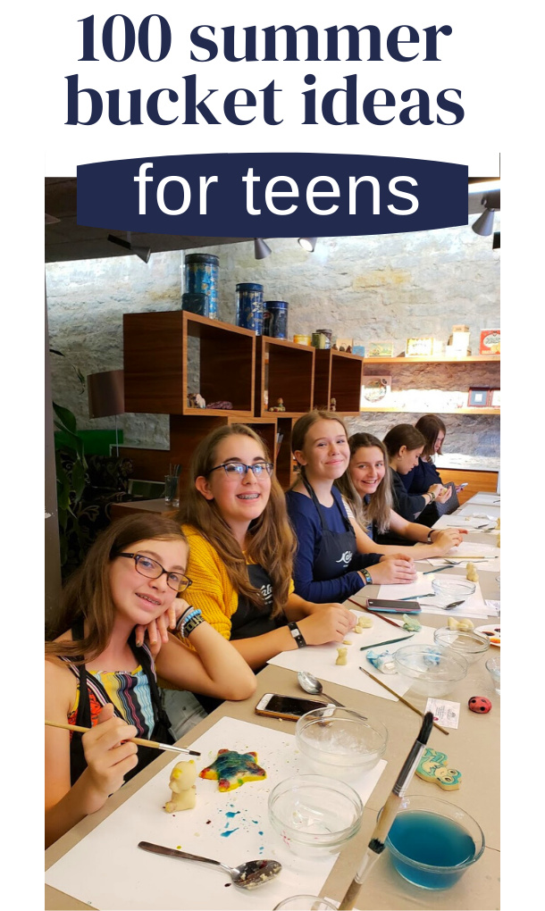 summer ideas for teens