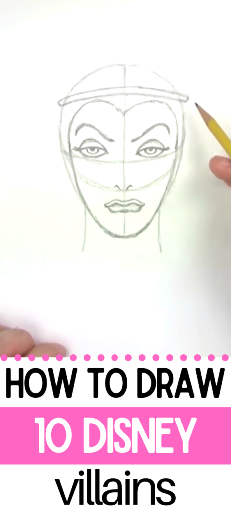 How To Draw Disney's Villains