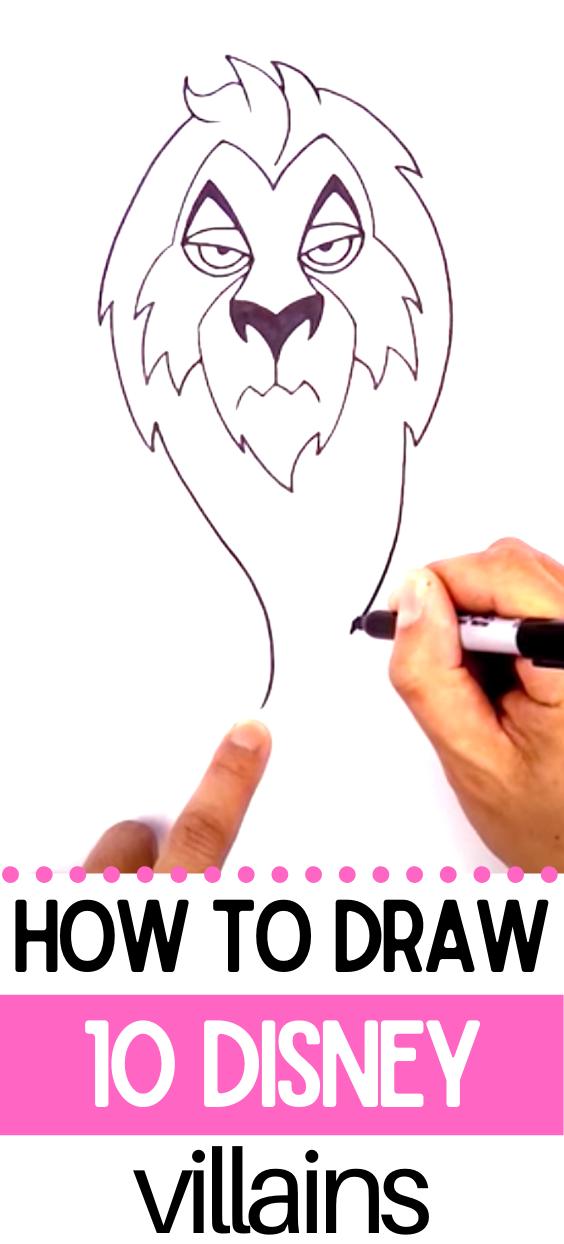 how to draw ursula