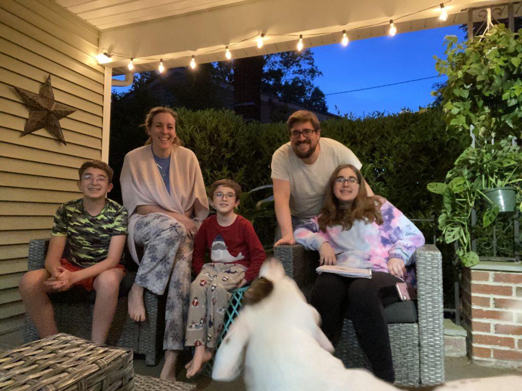 family bonding time as a goal