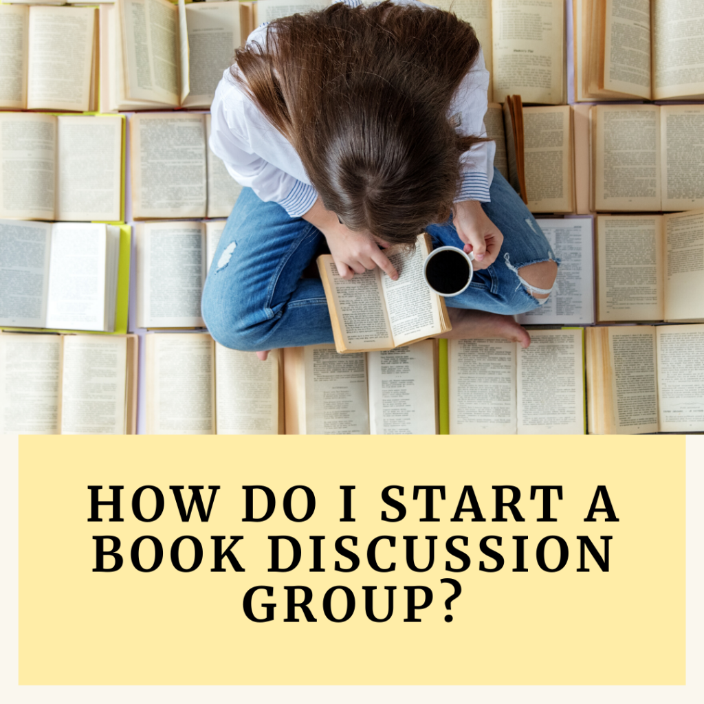 How do I start a book discussion group?