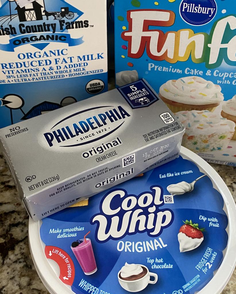 funfetti cake dip ingredients