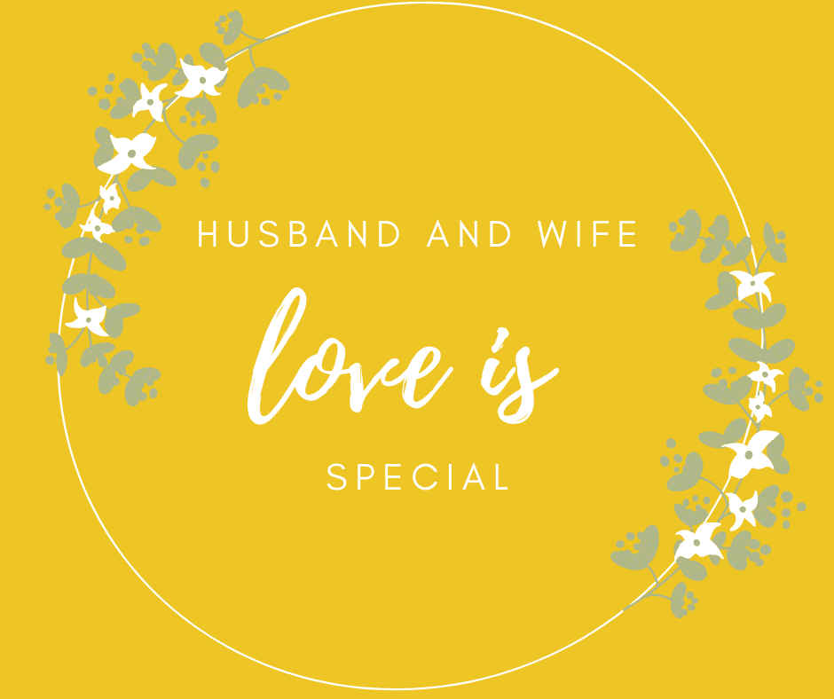 husband and wife love is special