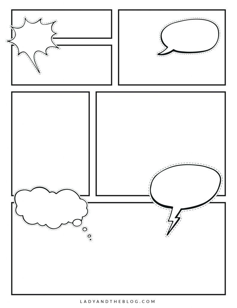 printable comic strips