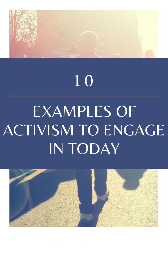 types of activism