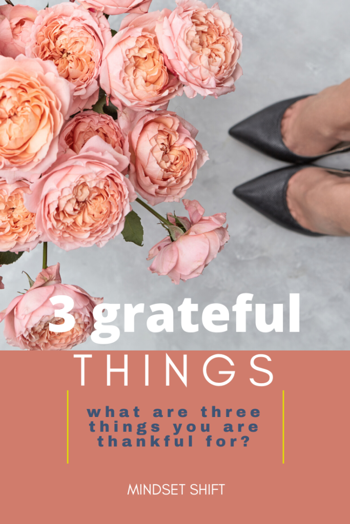 3 grateful things