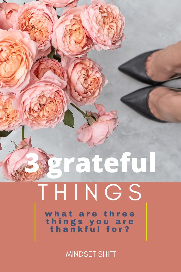 3 grateful things