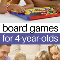 Board Games For 4 Year Olds