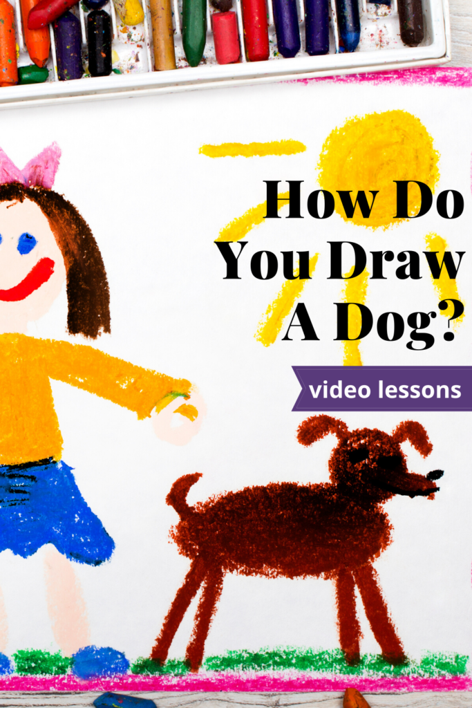 How Do You Draw A Dog
