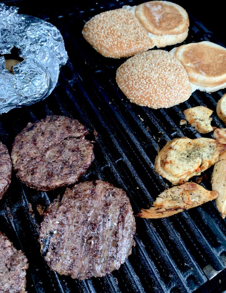 burger grilling tips
