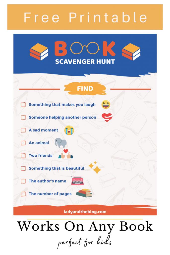 book scavenger hunt