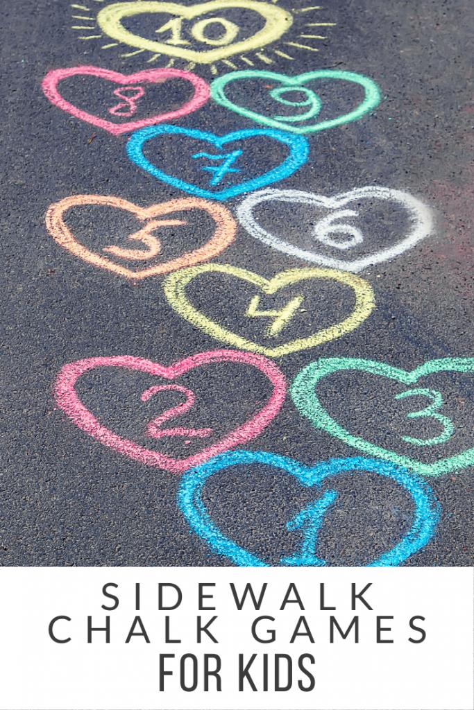 games with sidewalk chalk