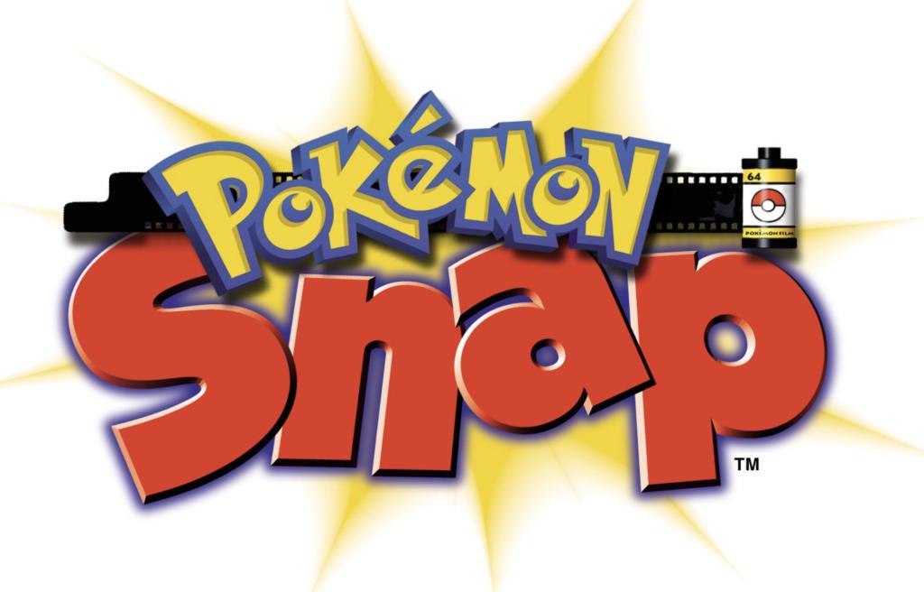 pokemon snap nintendo 64 logo