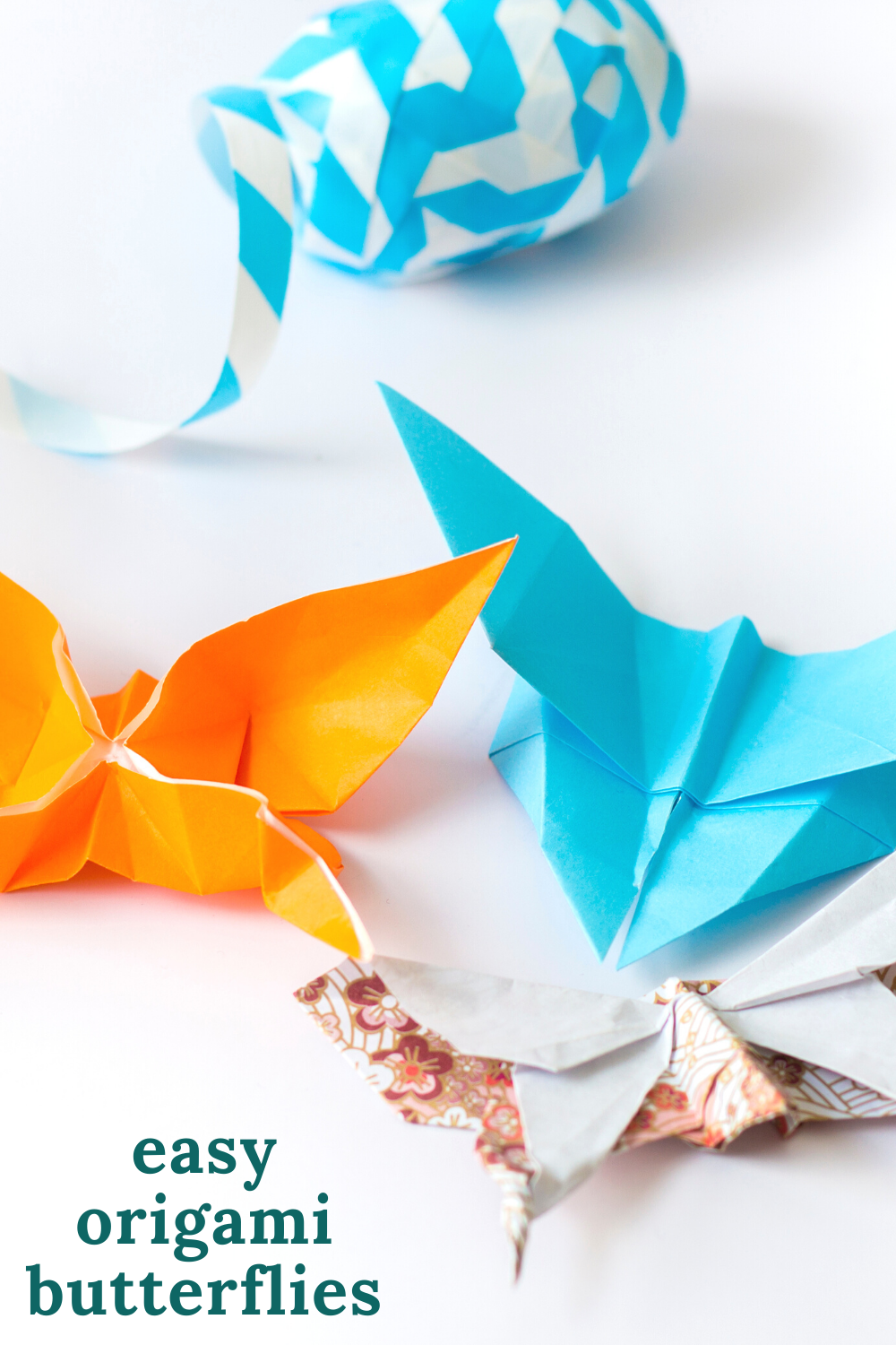 easy origami butterflies