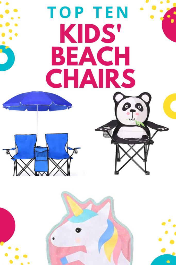 kids' beach chairs