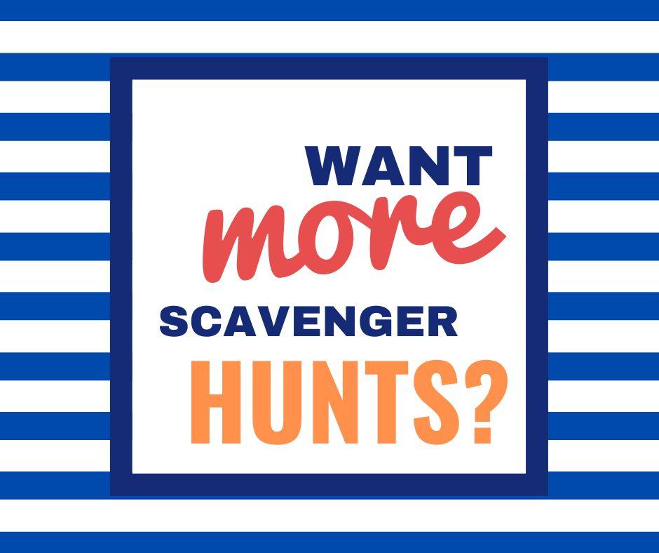 zoo scavenger hunt pdf