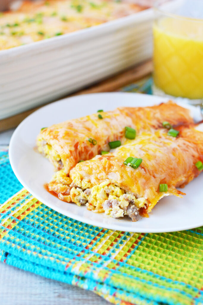 breakfast enchiladas casserole