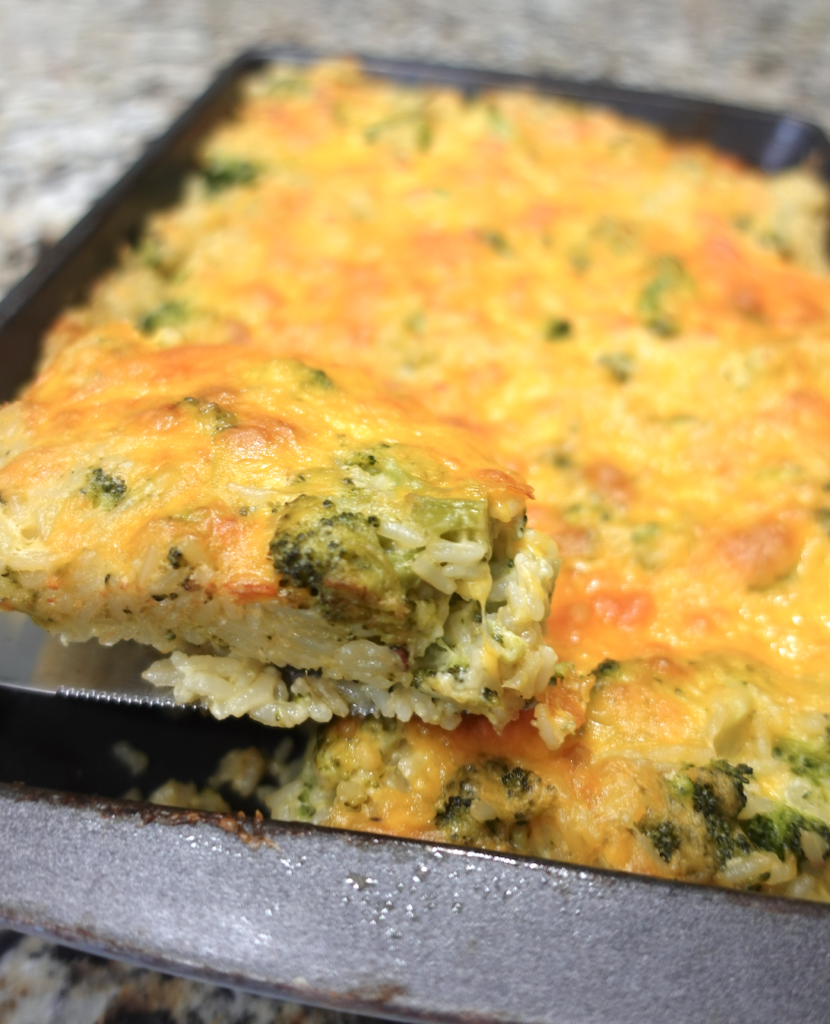 broccoli cheddar rice