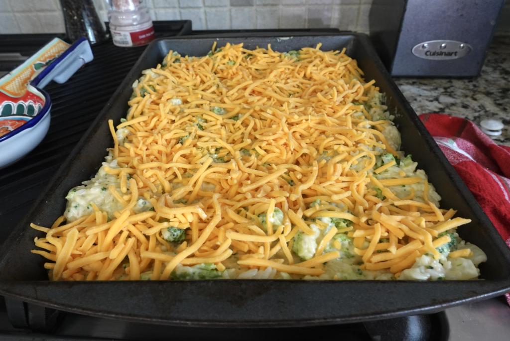 cheddar broccoli rice recipe