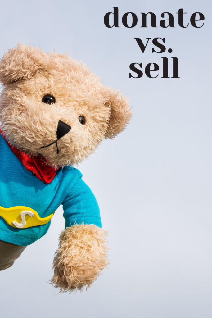donate or sell toys
