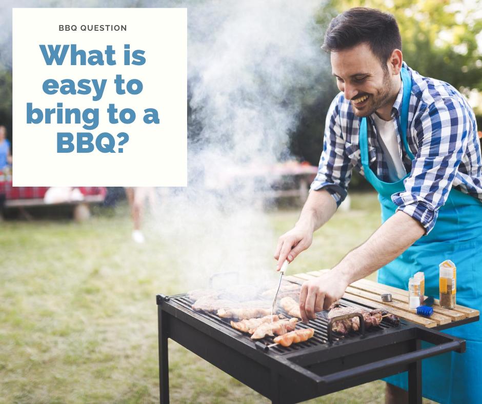 easy backyard BBQ menu