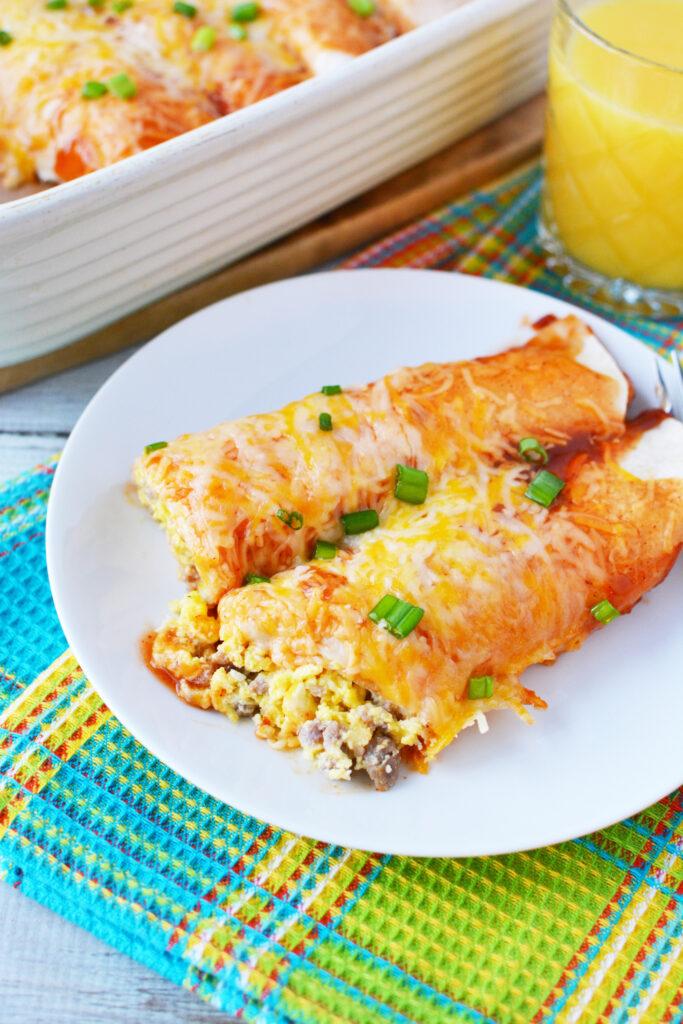 easy breakfast enchiladas