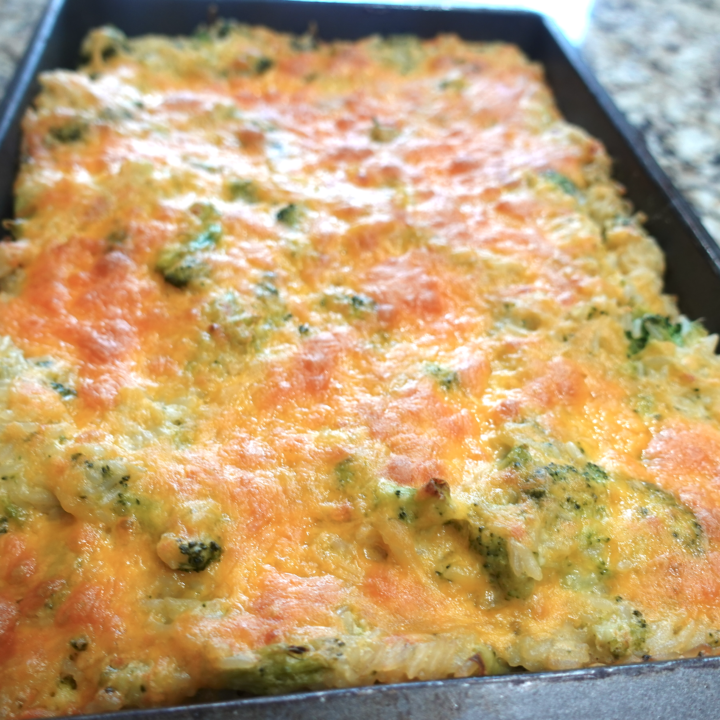 easy broccoli and rice casserole