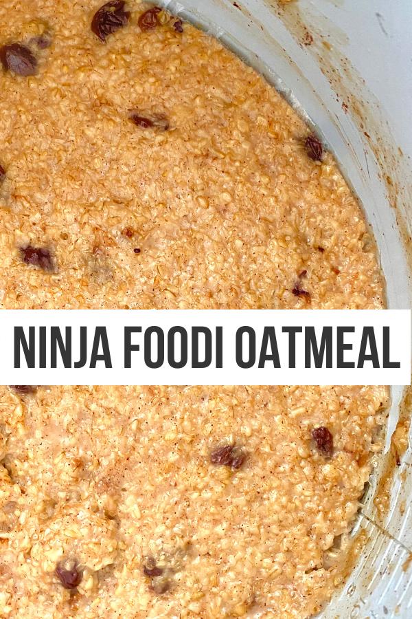 ninja kitchen oatmeal maple sugar
