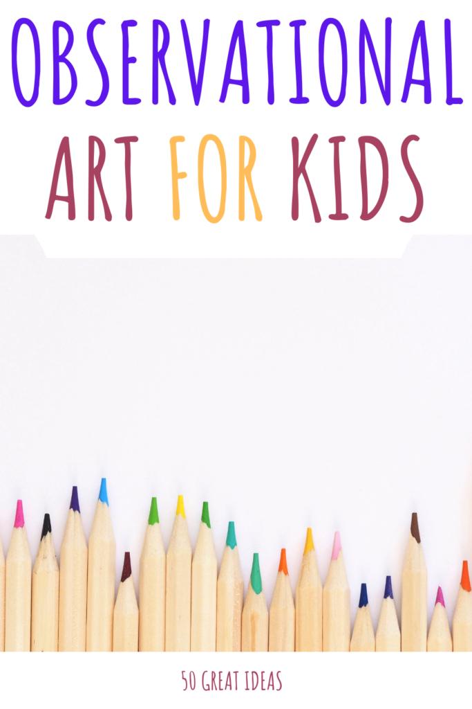 observational drawing for kids