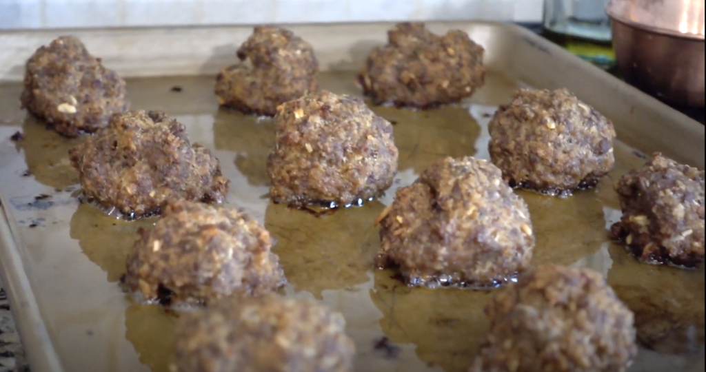 oven baked meatballs recipe