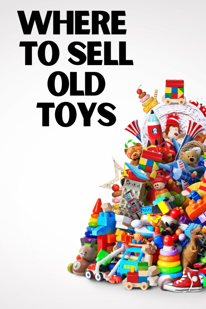 selling used toys