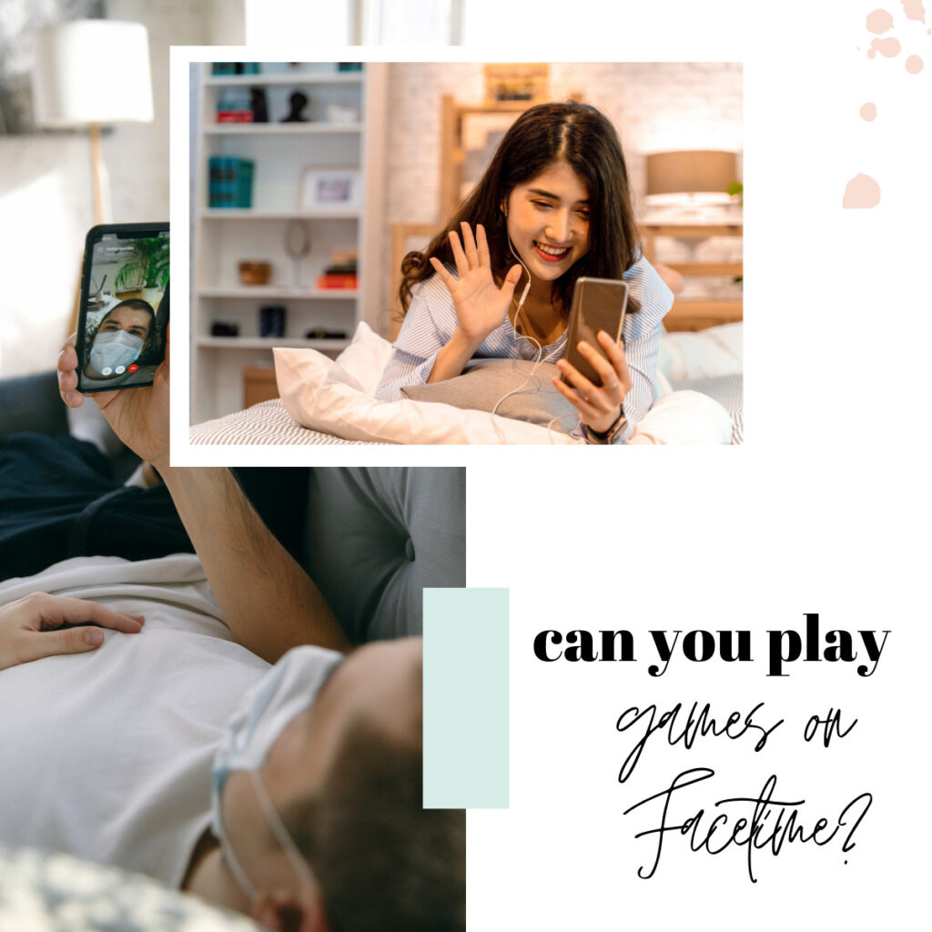 Can you play games while on FaceTime