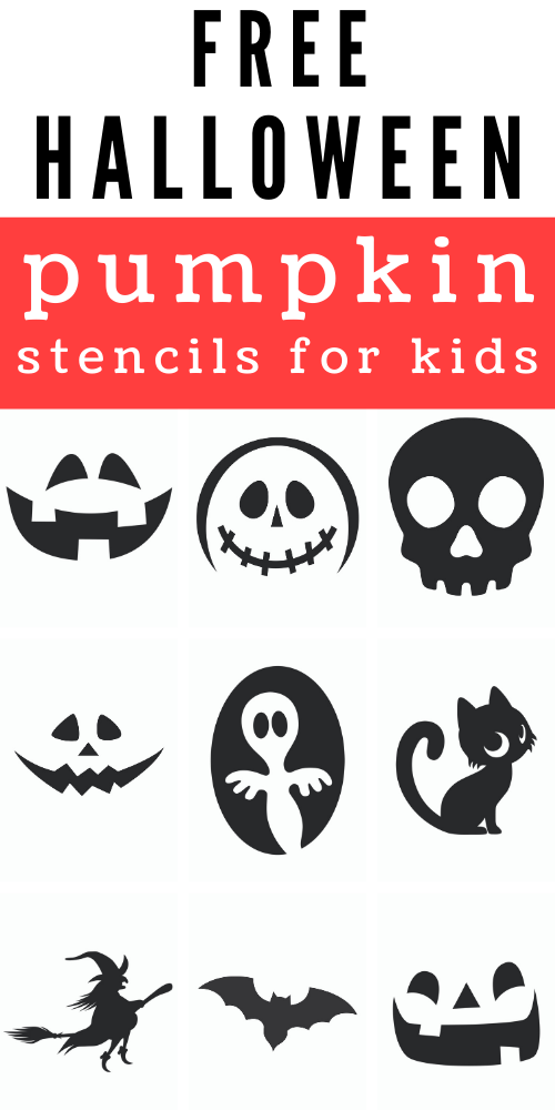 carving stencils for kids