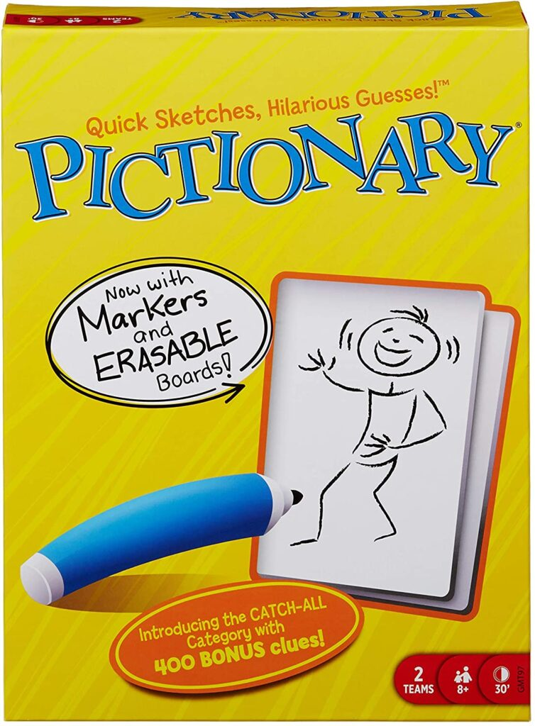 Pictionary with friends