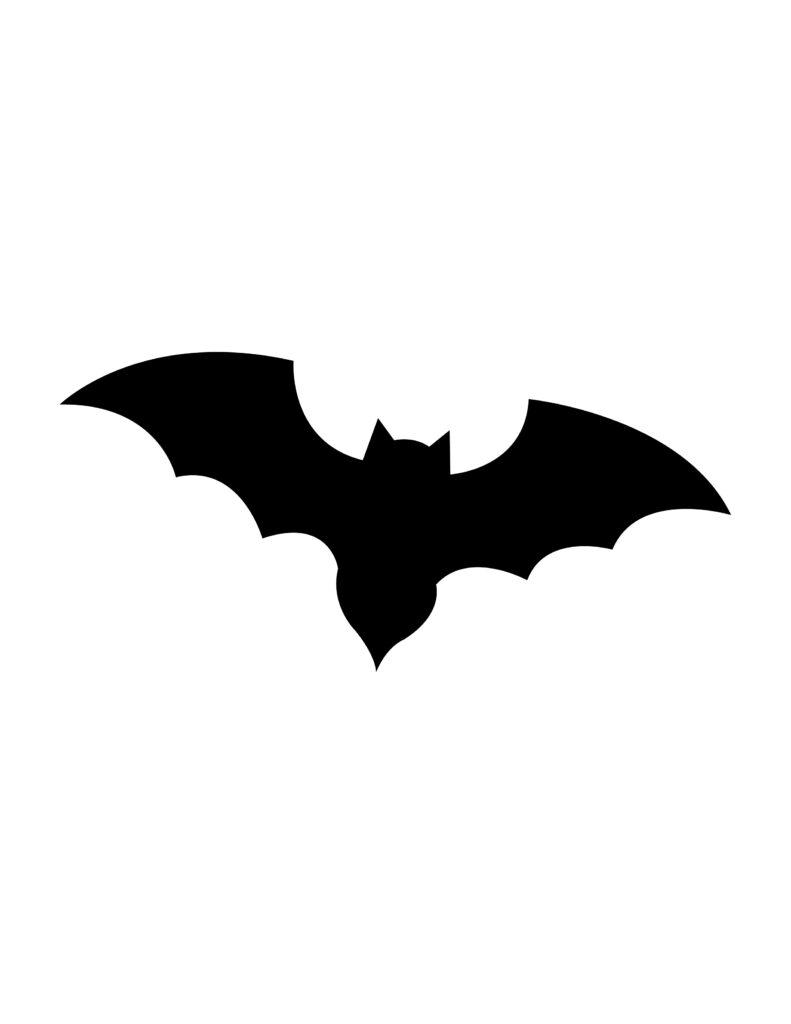 bat pumpkin stencil