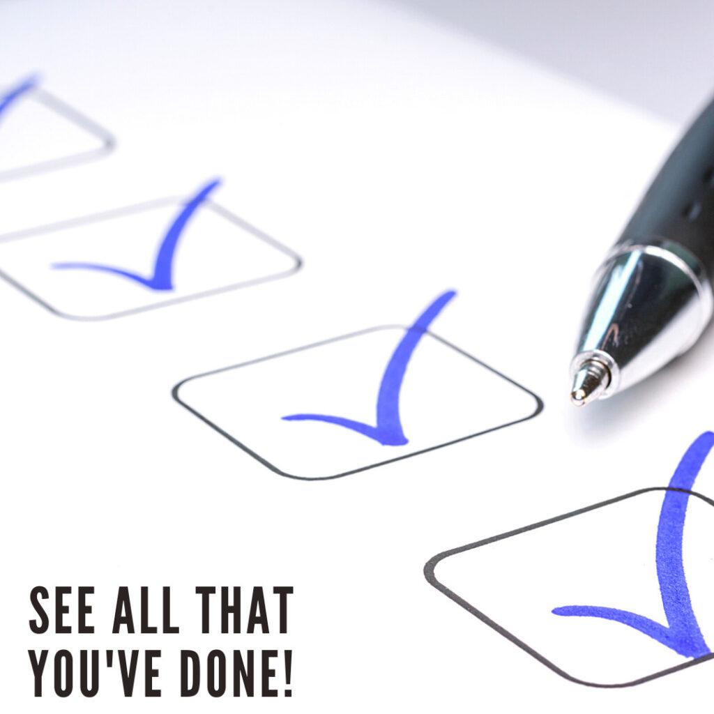checklist tips
