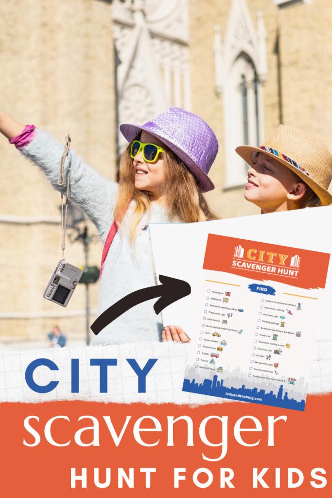 city scavenger hunt