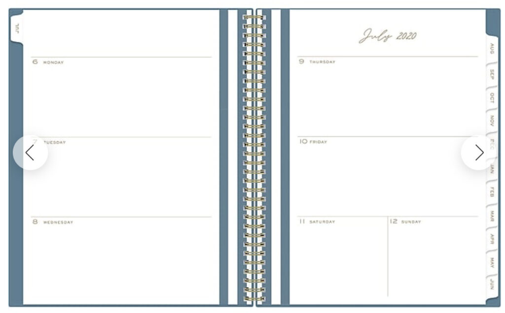 pen and paper planner