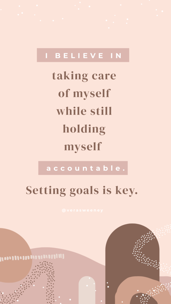 setting october goals