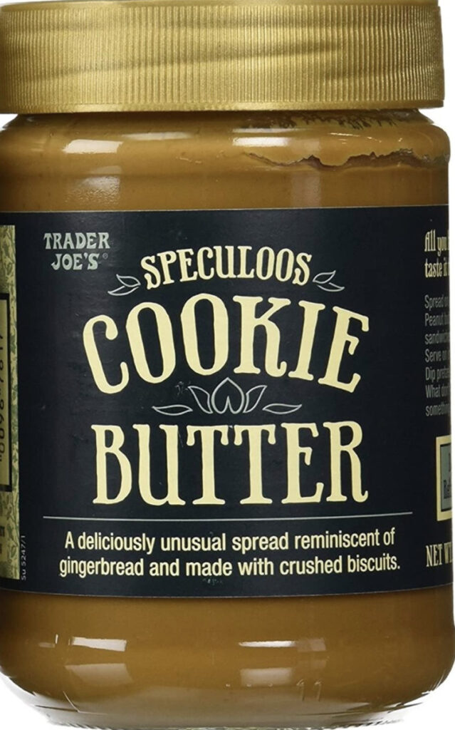 trader hoes speculoos cookie butter