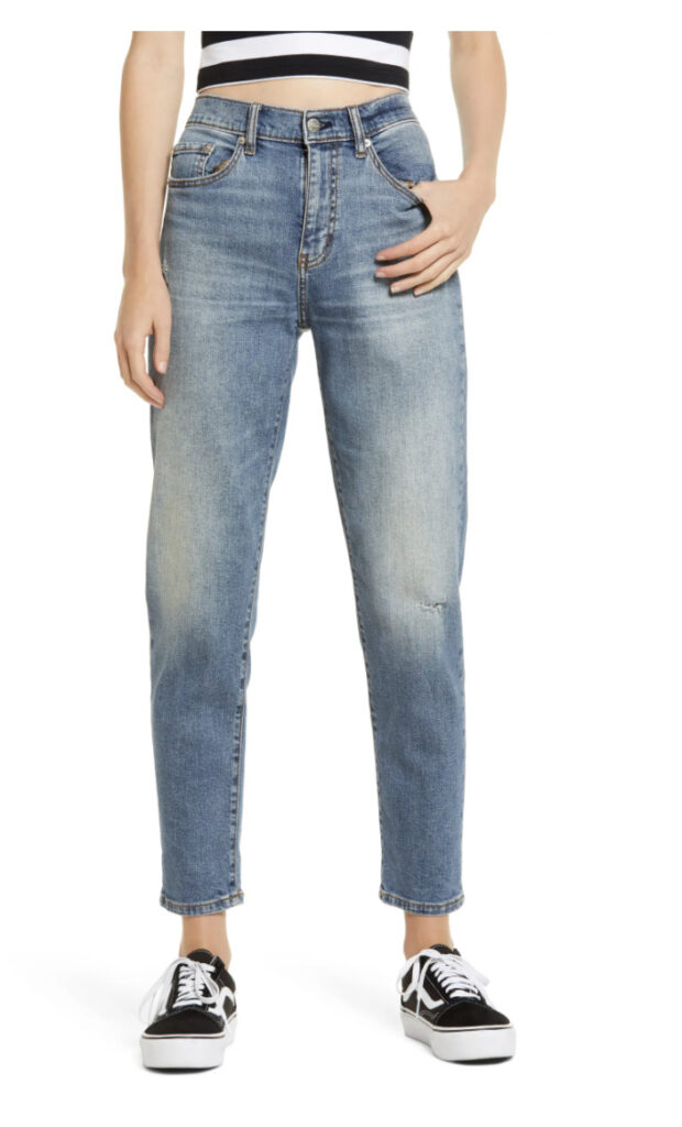 Loverboy Distressed High Waist Boyfriend Jeans