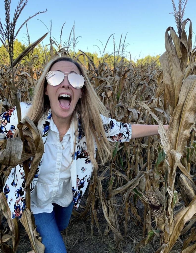 beat a corn maze