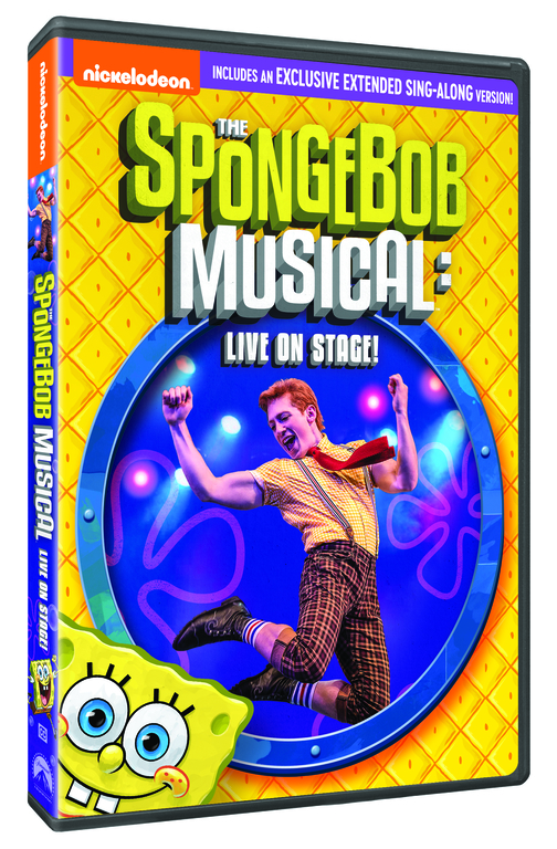 spongebob musical live on stage