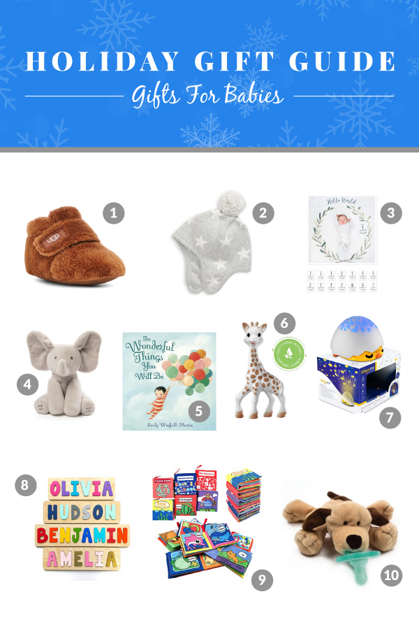baby gift ideas for christmas