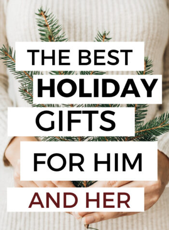 best holiday gifts for him and her