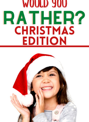 christmas would you rather kids
