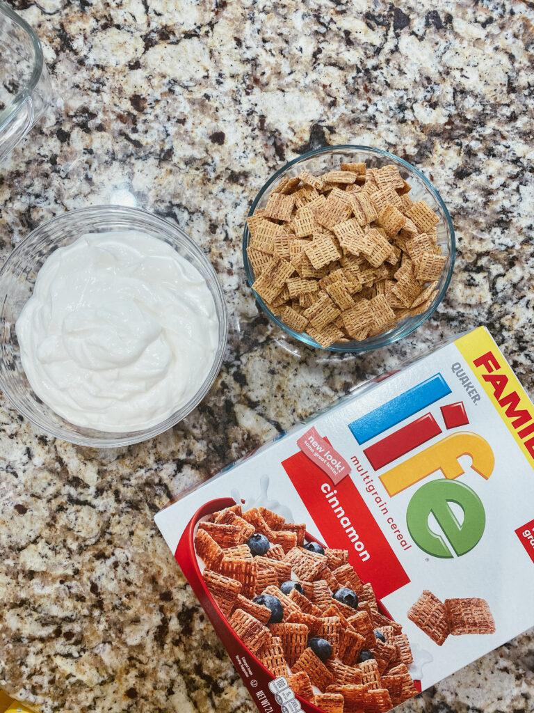 ingredients to make no bake cereal bars