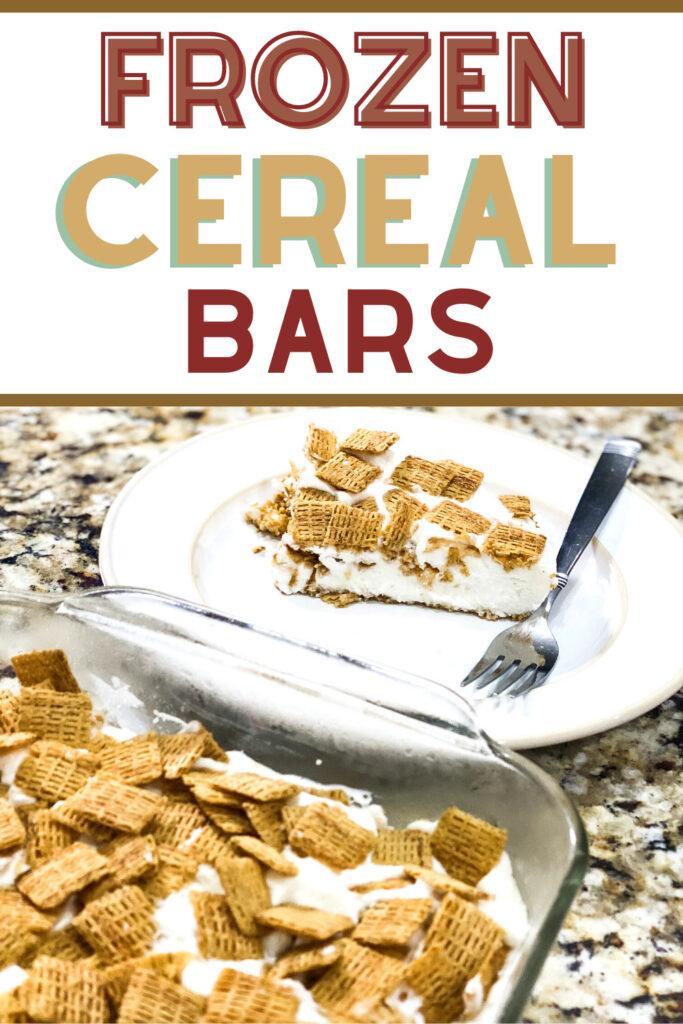 frozen cereal bars