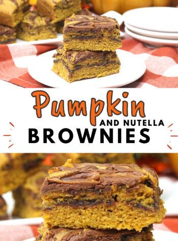 pumpkin swirl with nutella